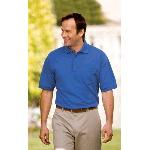 Pique Knit Sport Shirt with Pocket