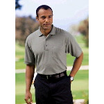 Silk Touch� Pique Knit Sport Shirt with Pocket