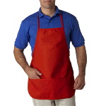 Large Two-Pocket Bib Apron