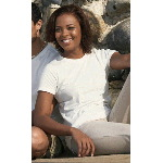 Ladies 100% Organic Cotton Perfect Weight Tee