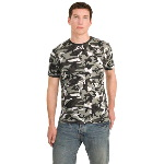 Mens Camo Perfect Weight District� Tee