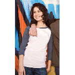 Ladies Perfect Weight 3/4 Sleeve Raglan Tee