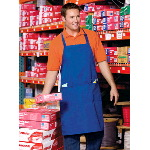 Adjustable Bib Apron with 3 Pockets