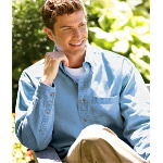 Mens Long-Sleeve Cypress Denim with Pocket