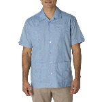 Mens Traditional Guayabera Shirt