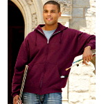 Adult Hooded Full-Zip Sweatshirt
