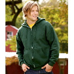 Adult SUPER SWEATS� Full-Zip Hooded Fleece
