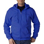 Adult Heavyweight Blend Full-Zip Hooded Sweatshirt