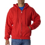 Adult Ultra Blend Full-Zip Hooded Sweatshirt 