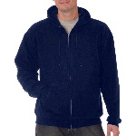 Adult ComfortBlend� Full-Zip Hooded Pullover