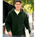 Adult Cross Weave� Full-Zip Hooded Sweatshirt
