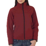 Ladies Full-Zip Soft Shell Jacket