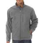 Mens Full-Zip Soft Shell Jacket