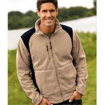 Mens Outdoor Escape Full-Zip Performance Micro Fleece