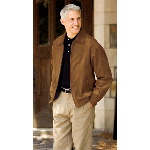 Mens Microsuede City Bomber Jackets