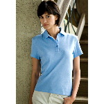 Oakwood-W Womens Stain Armor Pique Polo