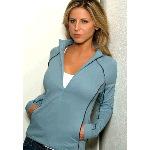 Daytona Womens Meshback 3/4 Zip Pullover
