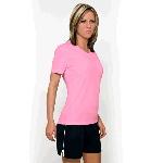 Womens Marathon Short Sleeve V-Neck Training Tee