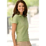 Womens Cypress Pima Pique Polo