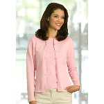 Womens Princess Combed Cotton Cardigan
