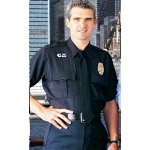 Mens Short Sleeve Conqueror Police Shirts