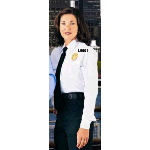 Womens Long Sleeve Conqueror Police Shirts