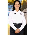 "Womens ""1776"" Short Sleeve Zipper Front Law Enforcement Shirt"