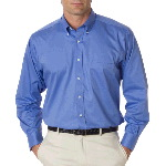 Mens Long Sleeve Dress Twill Shirt