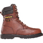 "Mens Safety Boot, LaCrosse 8"" Foreman HD Steel Toe Waterproof Insulated, EH"