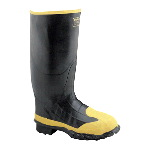 "Meta (Metatarsal Guard) Steel Toe 16"" Waterproof Rubber Boot, EH"