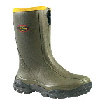 "Hunting Boot, LaCrosse Alphaburly 12"" Front Zip Insulated Waterproof, 3.5mm Neoprene, Rubber"