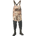 Alpha Swampfox Mossy Oak Duck Blind Chest Waders with 600G Thinsulate