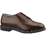 Mens Lites&reg; Brown Leather Oxford