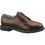 Womens Lites&reg; Brown Leather Oxford