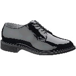 Mens High Gloss Uniform Oxford