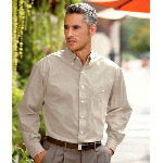 Mens Wrinkle-Free End-on-End Shirt