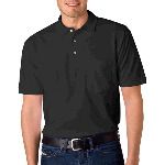 Adult Ring-Spun Pique Polo with Pocket