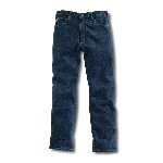 Relaxed Fit Prewash Jean, Straight Leg