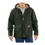 Sandstone Jackson Coat, Sherpa Lined
