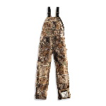 WorkCamo&reg; AP Bib Overall, Unlined