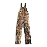 WorkCamo&reg; AP Bib Overall, Quilt Lined