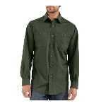 Long Sleeve Canvas Tradesmen Shirt