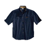 Short Sleeve Canvas Tradesmen Shirt