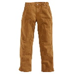Womens Double Front Sandstone Work Dungaree