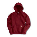 Womens Heavyweight Hooded Pullover Sweatshirt
