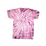 Spider Tie Dye Short Sleeve T-Shirt