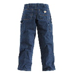 Flame-Resistant Denim Dungaree