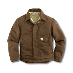 Flame-Resistant Canvas Dearborn Jacket, Quilt Lined