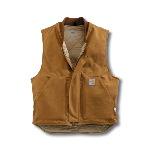 Flame-Resistant Duck Vest, Quilt Lined