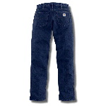 Womens Flame-Resistant Relaxed Fit Denim Jean